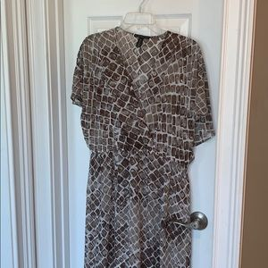 Ladies Black Label Chicos Dress Size 2 EUC
